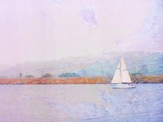 "Sailboat Photography, Nautical Photography, 8x10 fine art print, ""Sailing Dreams"" by ShannonHowardPrints on Etsy #homedecor #theartisangroup"