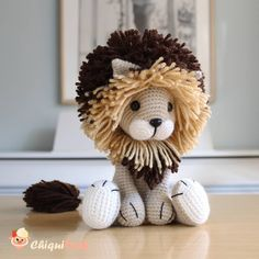 The king of the jungle is back! Here is another Tyrion the lion version, this is the first time I've made him with two different colors…