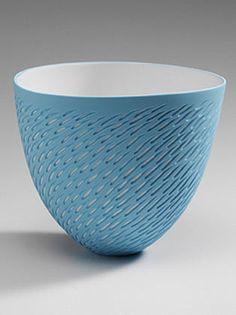 Ceramics by Sasha Wardell at Studiopottery.co.uk - 2006. Bone China. Shoal Bowl. £140.