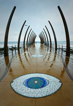 Umhlanga Rocks Pier, Durban, South Africa