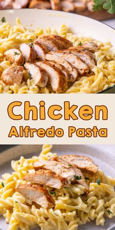 I need weeknight pasta this time. Chicken alfredo fusilli pasta becomes my comfort food choice. With the simple steps, you can get flavorful fusilli pasta with crispy fried chicken. So creamy and cheesy chicken alfredo. Yum! Creamy Pasta Recipes, Best Pasta Recipes, Pasta Dinner Recipes, Weeknight Recipes, Noodle Recipes, Party Recipes, Lunch Recipes, Delicious Recipes, Tasty