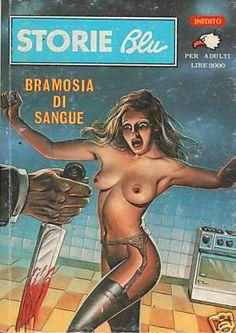 Storie Blu #106 - BRAMOSIA DI SANGUE