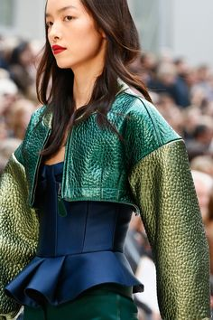 10.Short Doublet/Fitted Jacket Burberry Prorsum S/S 2013 Burberry successfully allude to the romantics of the Italian short fitted doublet. It captures the progressive influx shortening of the doublet, which was intended to expose the codpiece.