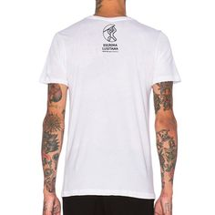 T-shirt branca com g