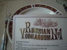 Russian Vodka Room No 1 ~ a restaurant that serves century Russian food complimented by 213 kinds of vodka, a favored drink whose fascinating history you can learn at the adjacent Russian Vodka Museum. Russian Vodka, Peter The Great, Russian Recipes, Trip Advisor, Fun Facts, Restaurant, Homemade, Drink, History