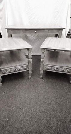 Ideas For Gray Painted Furniture Diy Grey Wash Gray Painted Furniture, Distressed Furniture, Refurbished Furniture, Paint Furniture, Furniture Projects, Furniture Making, Furniture Makeover, Apartment Furniture, Vintage Furniture