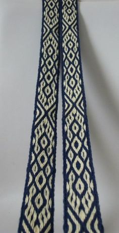 Lots of beautiful examples of tablet weaving on this Polish blog.
