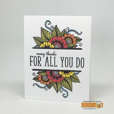 The Cast and Crew for Gina K Designs  welcomes you to Day Two of the Inspiration blog hop celebrating the new stamp sets by Gina K! This mo...
