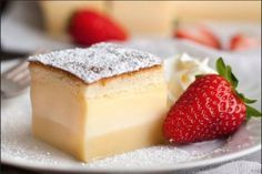 Looking for Fast & Easy Cake Recipes, Dessert Recipes! Recipechart has over free recipes for you to browse. Find more recipes like Magic 3 Layer Custard Cake. My Recipes, Sweet Recipes, Cake Recipes, Dessert Recipes, Cooking Recipes, Favorite Recipes, Pie Dessert, Easter Recipes, Food Cakes