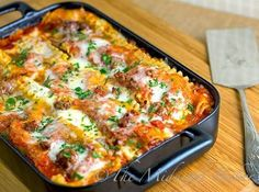 Trying tonight. Holiday Lasagna recipe is a traditional casserole served for Christmas Eve Dinner. Love the idea of something totally different than turkey dinner but something that can be made ahead. Great for buffet parties too. Lasagna Casserole, Casserole Recipes, Pasta Recipes, Beef Recipes, Dinner Recipes, Cooking Recipes, Pasta Lasagna, Lasagna Noodles, Pasta Noodles
