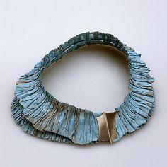 """Pawel Kaczynski / necklace """"tree"""" - silver, steel"""