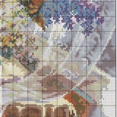 """Вышивка """"Аромат сирени"""" 