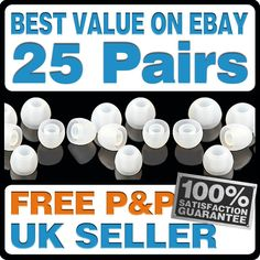Small - Medium - Large - Replacement Earphone Heads / Tips / Gels / Buds   eBay