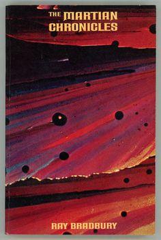 "Vintage Ray Bradbury Book Covers - ""The Martian Chronicles"" love this cover Book Cover Art, Book Cover Design, Ray Bradbury Books, Science Fiction Books, Fiction Novels, Vintage Book Covers, Sci Fi Books, Retro Futurism, The Martian"