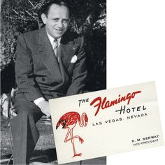 Moe Sedway was Siegel's business partner in the Flamingo in Vegas, and he took it over after Siegel's murder Bugsy Siegel, Real Gangster, Old Vegas, Family Destinations, Las Vegas Hotels, Pin Up Style, Mad Men, Pin Up Girls, Mafia