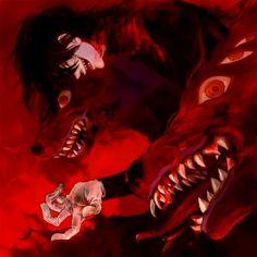 #Alucard #Hellsing #Hellhound