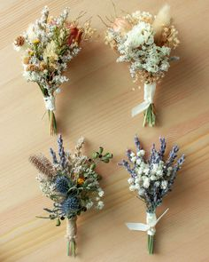 Double thistles Bohemian Rustic Dried flowers boutonniere / French Lavender meets German Statice flowers and Eucalyptus berries - Marvelous Bridal Flower Perceptions - Blumenkranz Thistle Boutonniere, Groom Boutonniere, Babys Breath Boutonniere, Thistle Bouquet, Lavender Boutonniere, Corsage And Boutonniere, Boutonnieres, Floral Wedding, Wedding Bouquets