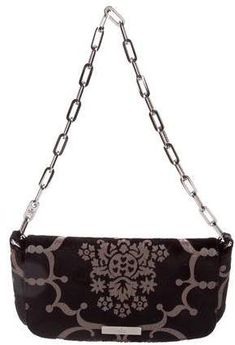 691cc2b496 Gucci Velvet Printed Shoulder Bag
