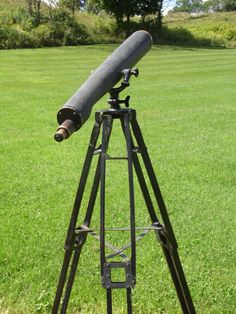 Telescope/Telescope with Stand/Warner and by OldSteamerTrunkJunk