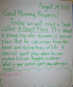 56 Best Morning Message Ideas images   Responsive classroom