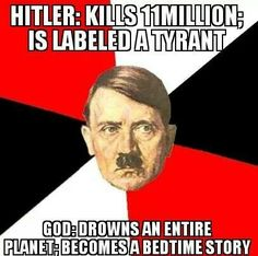 The success of a brainwashing indoctrination is complete when celebrity genocidal tyrants make it to your kids' bedtime stories.