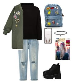 """""""♧♧"""" by song-v on Polyvore featuring Uniqlo, Jaeger, WithChic, Kate Spade and BERRICLE"""