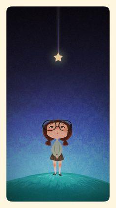 Yo tengo una estrella que me cuida desde el cielo..