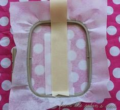 From The Robin's Nest: How to Embroider On Ribbon