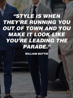 Men's Fashion Quotes For other models, you can visit the category. For more ideas, please … Men's Fashion, Mens Fashion Blog, Best Mens Fashion, Hipster Fashion, Fashion Styles, Runway Fashion, Gentleman Quotes, Dapper Gentleman, Gentleman Style