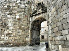 Puerta de san Pedro. Muralla de Lugo