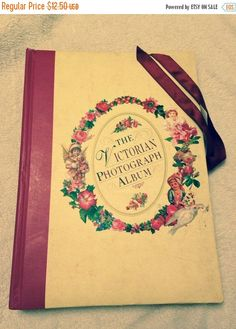 Now On Sale The Victorian Photograph Album by RareBooks on Etsy