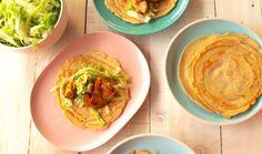 Paleo Chicken Burritos  (yep… paleo burrito wraps!).