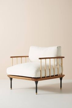 48 The Best Modern Armchair Design Ideas - fauteuil Classic Furniture, Unique Furniture, Furniture Vintage, Design Furniture, Furniture Decor, Plywood Furniture, Chair Design, Furniture Stores, Studio House