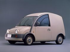 An absolute quirky classic and a brilliant play on words.  1989 Nissan S-Cargo 1.5 (R-G20)