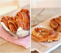 "Franzbrötchen. ""Little French breads"" from Hamburg -- but baked with cinnamon.    http://www.ploetzblog.de/2010/10/18/gebacken-hamburger-franzbroetchen-nach-ketex/  http://blog.essen-und-trinken.de/2009/03/06/franzbrotchen/  http://lingonsmak.blogspot.com/2011/09/z-i-m-t-z-u-c-k-e-r-b-u-t-t-e-r.html  http://www.abreadaday.com/?p=1878"