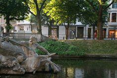 Düsseldorf Königsallee Tritonenbrunnen