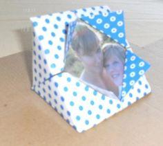 Geschenktipp: Bilderrahmen aus Tonkarton selbst gestalten und verschenken