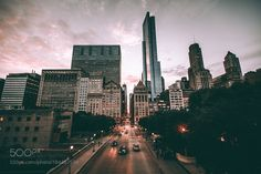 Chicago dusk by NealKumar #architecture #building #architexture #city #buildings #skyscraper #urban #design #minimal #cities #town #street #art #arts #architecturelovers #abstract #photooftheday #amazing #picoftheday