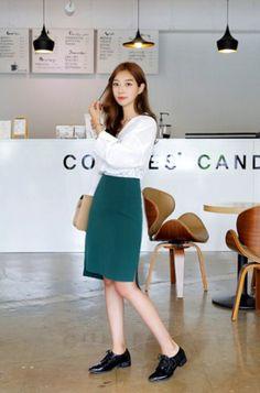 Pencil Skirt [Darlly Shop] 11Street #businesschic #workclothes #bottoms