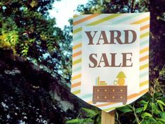 Top Tips for Throwing a Successful Yard Sale | Easy Ideas for Organizing and Cleaning Your Home | HGTV