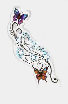 Sterne und Schmetterlinge!!