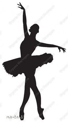 Ballerina Silouette 1