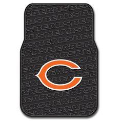 Chicago Bears NFL Car Front Floor Mats (2 Front) (17x25)