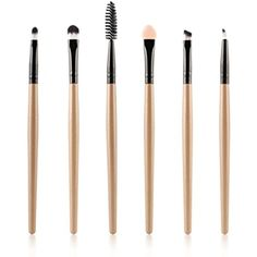 Bolayu 6PCS Cosmetic Makeup Brush Lip Eyeshadow Brush -- You can get more details by clicking on the image. (This is an affiliate link) #ToolsAccessories