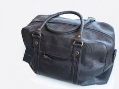 Ted Baker overnight bag $250 from Gotstyle Menswear.