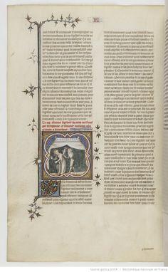 Grandes Chroniques de France. Date d'édition : 1375-1380 33v