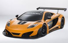 McLaren launch 12C Can-Am Edition racing concept. Slightly faster than average cars :)