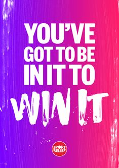 Turn your can'ts into cans for Sport Relief 2018. You're one step closer to realising your potential. Sport Relief is all about getting students feeling good while they do some good. This year, our theme is 'Whatever Moves You' and there are all sorts of ways your school can make a difference. Download your FREE Printable motivational poster by simply tapping the Pin on a desktop and pop them up around your school.