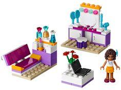 LEGO® Friends   Andrea's Bedroom – Item: 41009 // $10 ---  laptop piece