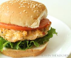 Salmon Burgers | Slyh in the Kitchen